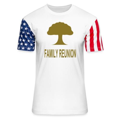 ***12% Rebate - See details!*** FAMILY REUNION add - Unisex Stars & Stripes T-Shirt