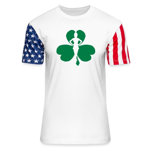 ceili dancer - Unisex Stars & Stripes T-Shirt