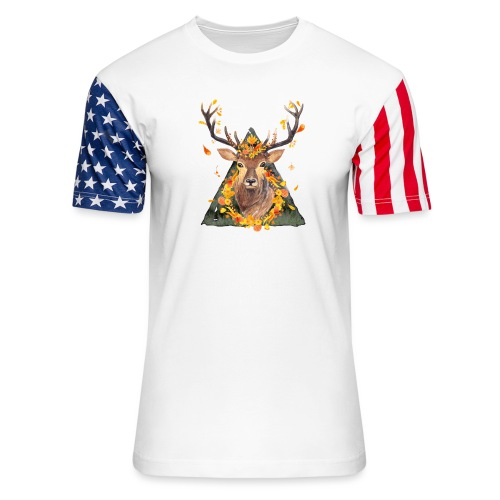 The Spirit of the Forest - Unisex Stars & Stripes T-Shirt