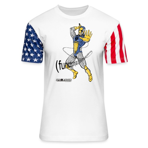 Super Developer - Unisex Stars & Stripes T-Shirt