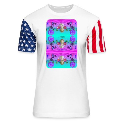 Aesthetisc Design - Unisex Stars & Stripes T-Shirt