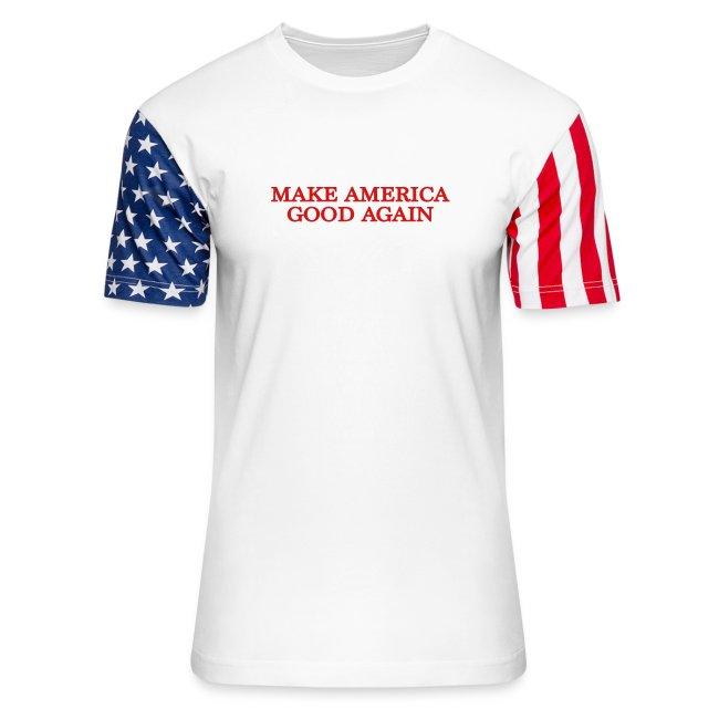 Make America Good Again - front & back
