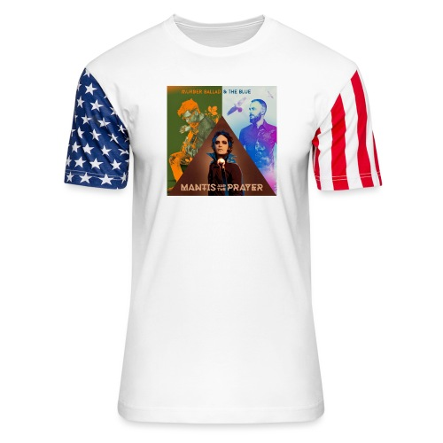 Murder Ballad & The Blue - Unisex Stars & Stripes T-Shirt
