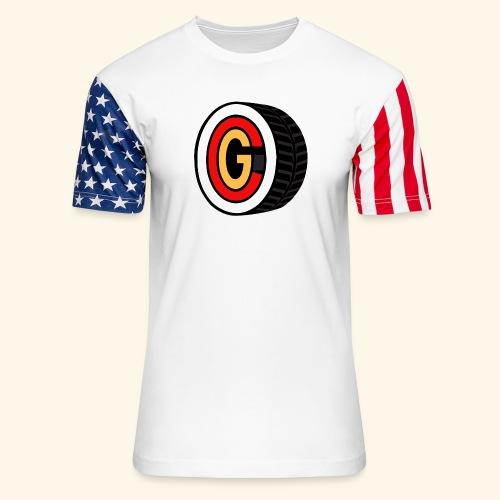 ocg T 5000 - Unisex Stars & Stripes T-Shirt