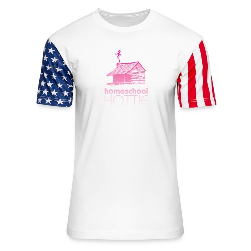 Homeschool Hottie PW - Unisex Stars & Stripes T-Shirt
