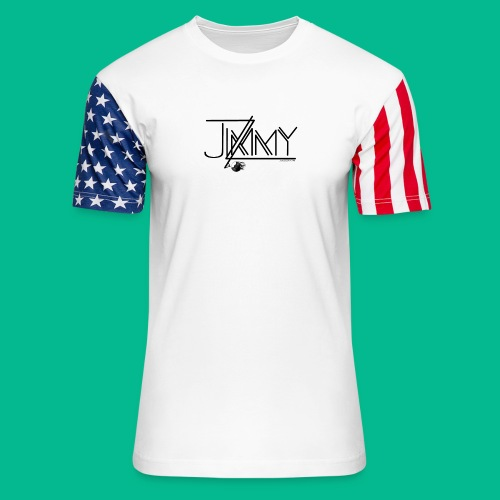 Actor James J Zito III Swag Shop - Unisex Stars & Stripes T-Shirt