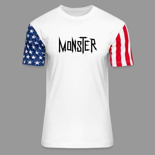 Monster - Unisex Stars & Stripes T-Shirt
