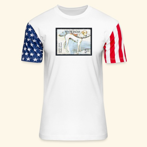 India - Mudhol Hound - Unisex Stars & Stripes T-Shirt