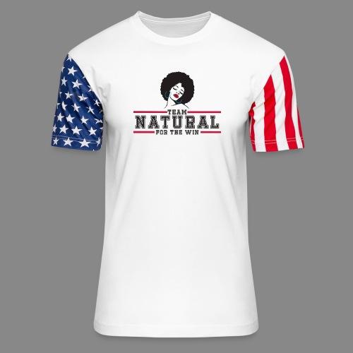 Team Natural FTW - Unisex Stars & Stripes T-Shirt