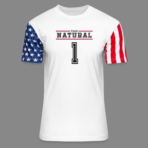 Team Natural 1 - Unisex Stars & Stripes T-Shirt