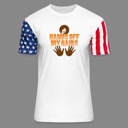 Hands Off! - Unisex Stars & Stripes T-Shirt