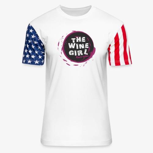 The Wine Girl - Unisex Stars & Stripes T-Shirt