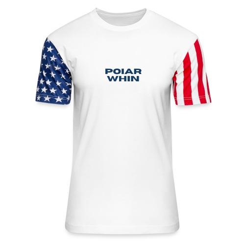 PoIarwhin Updated - Unisex Stars & Stripes T-Shirt