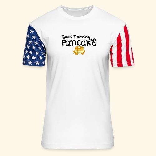 Good Morning Pancake Mug - Unisex Stars & Stripes T-Shirt