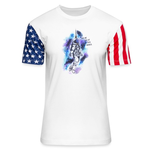 Get Me Out Of This World - Unisex Stars & Stripes T-Shirt