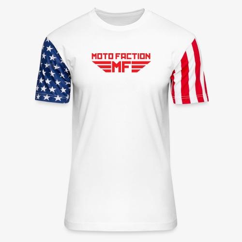 MotoFaction Logo - Unisex Stars & Stripes T-Shirt
