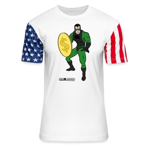 Superhero 4 - Unisex Stars & Stripes T-Shirt