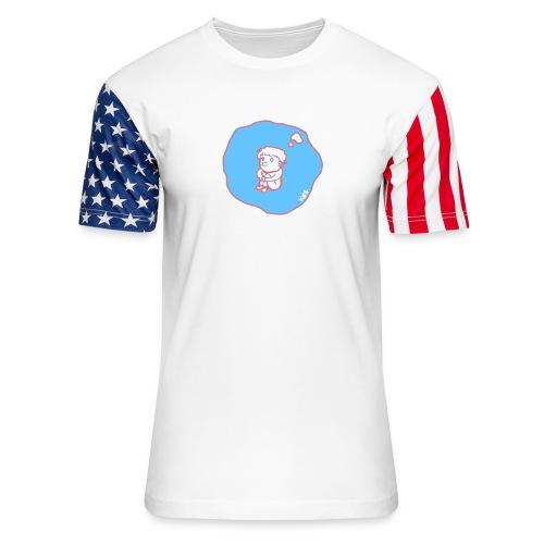 In my bubble - Unisex Stars & Stripes T-Shirt