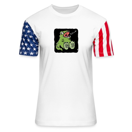 RAWR! - Unisex Stars & Stripes T-Shirt