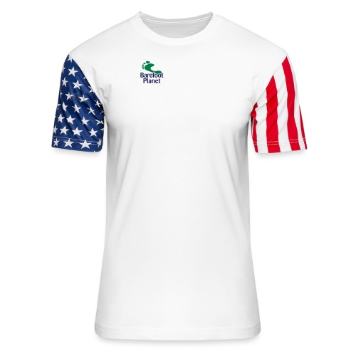 Get Out & Run Barefoot Women's T-Shirts - Unisex Stars & Stripes T-Shirt