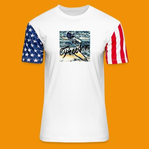 Freedom - Unisex Stars & Stripes T-Shirt