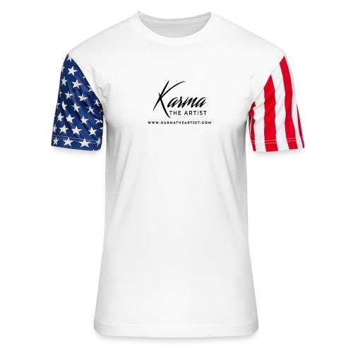 Karma - Unisex Stars & Stripes T-Shirt