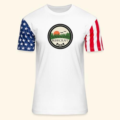 Nova Scotia Bushcraft - Unisex Stars & Stripes T-Shirt