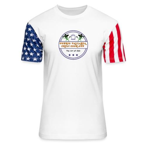 The Art of Chili - Unisex Stars & Stripes T-Shirt