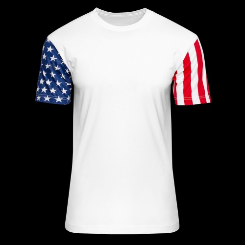 RKStudio White Logo Version - Unisex Stars & Stripes T-Shirt