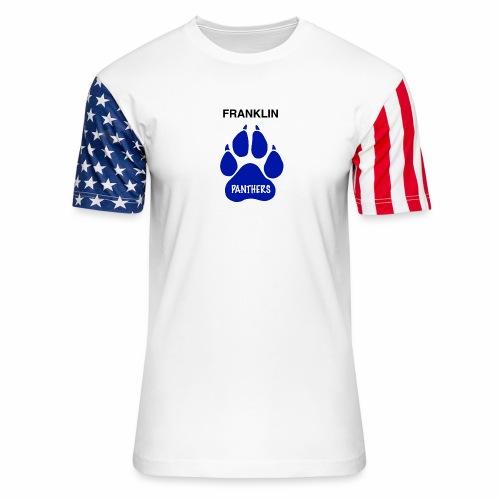 Franklin Panthers - Unisex Stars & Stripes T-Shirt