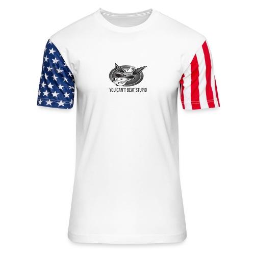 You Can't Beat Stupid - Unisex Stars & Stripes T-Shirt