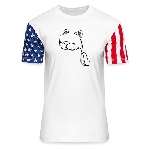 Meowy Wowie - Unisex Stars & Stripes T-Shirt