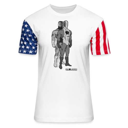 Superhero 9 - Unisex Stars & Stripes T-Shirt