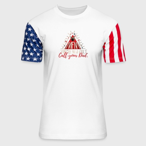 My Favorite Murder - Unisex Stars & Stripes T-Shirt