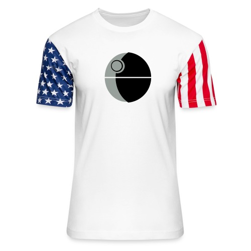 This Is Not A Moon - Unisex Stars & Stripes T-Shirt
