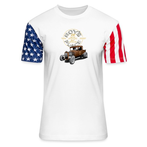 RoysRodDesign052319_4000 - Unisex Stars & Stripes T-Shirt