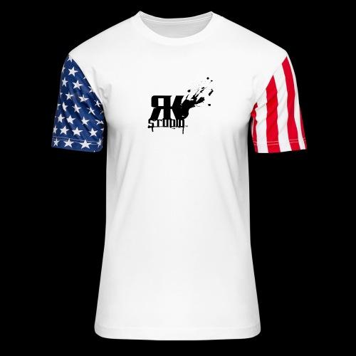 RKStudio Black Version - Unisex Stars & Stripes T-Shirt