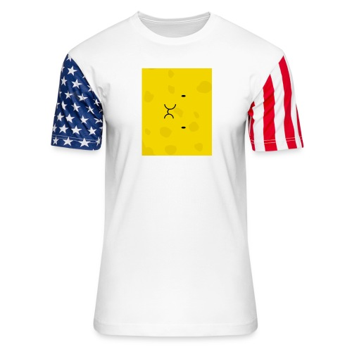 Spongy Case 5x4 - Unisex Stars & Stripes T-Shirt