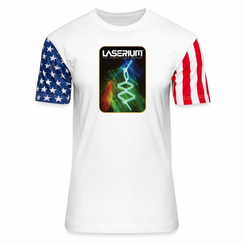 LaseriumDesign001 - Unisex Stars & Stripes T-Shirt