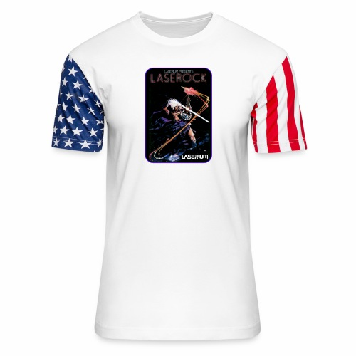 Laserium Design 002 - Unisex Stars & Stripes T-Shirt