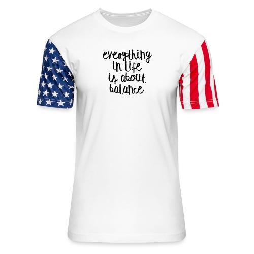 Balance - Unisex Stars & Stripes T-Shirt