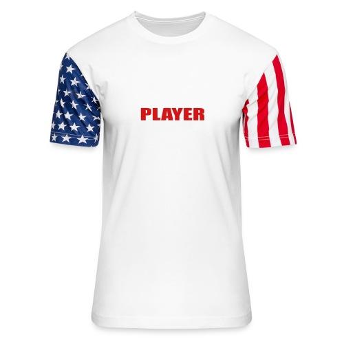 Bass Player - Unisex Stars & Stripes T-Shirt
