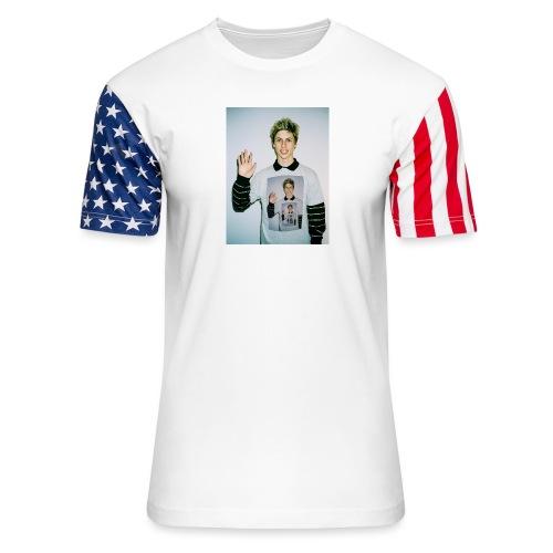 lucas vercetti - Unisex Stars & Stripes T-Shirt