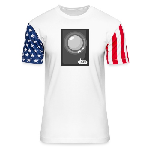 Announcer Tablet Case - Unisex Stars & Stripes T-Shirt