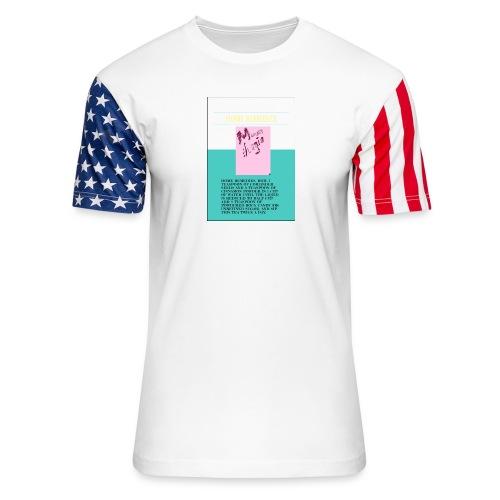 Support.SpreadLove - Unisex Stars & Stripes T-Shirt