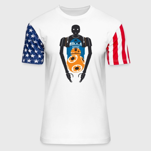 Star Wars Rogue One The Droids You're Looking For - Unisex Stars & Stripes T-Shirt