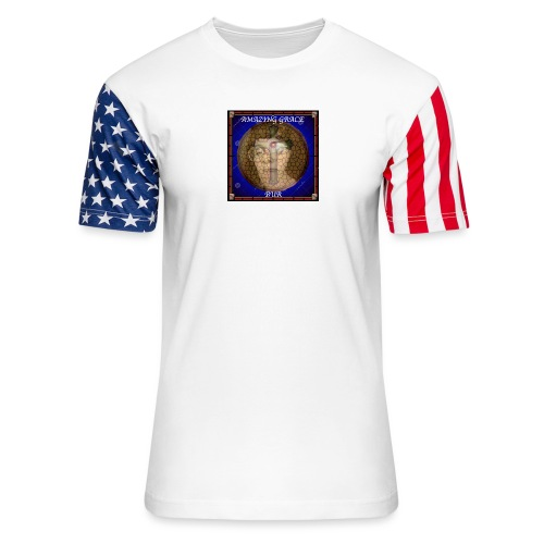 AMAZING GRACE - Unisex Stars & Stripes T-Shirt