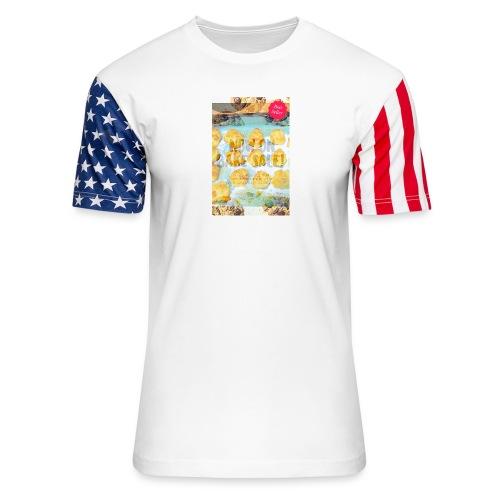 Best seller bake sale! - Unisex Stars & Stripes T-Shirt