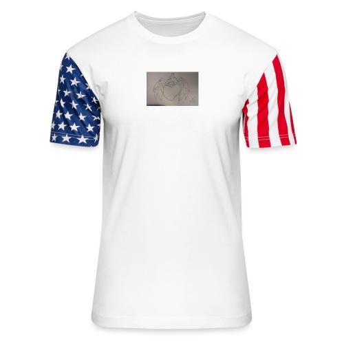 Angel - Unisex Stars & Stripes T-Shirt