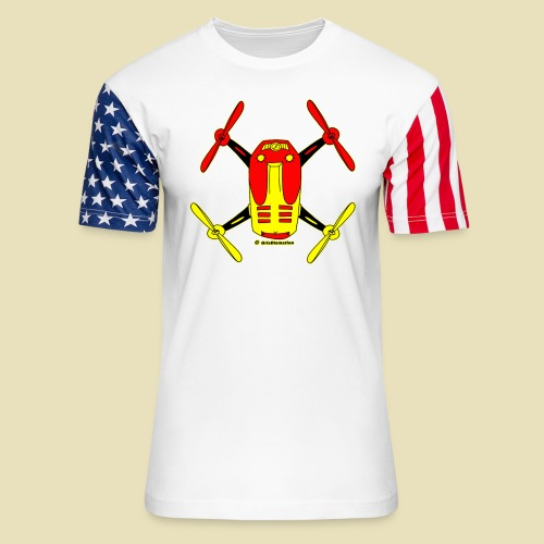GrisDismation Ongher Droning Out Tshirt - Unisex Stars & Stripes T-Shirt